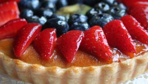 Crostata all'avena e frutta
